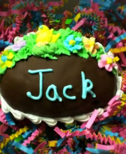 Photo of personalized Fudge-filled Easter Eggs