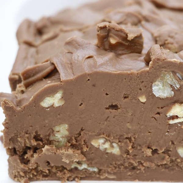 Chocolate Pecan Fudge - Nauvoo Fudge Factory