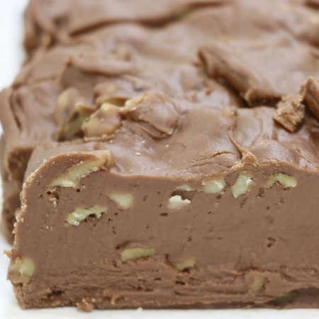 Chocolate Walnut Fudge - Nauvoo Fudge Factory