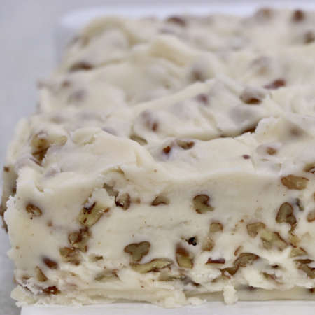 Vanilla Pecan Fudge - Nauvoo Fudge Factory