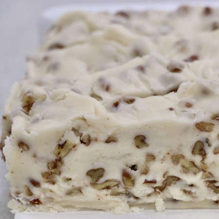 Vanilla Pecan Fudge - Nauvoo Fudge Factory